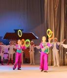 Children circus jugglers Stock Photos