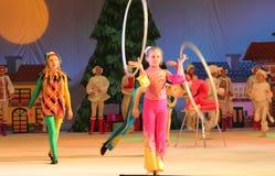 Children circus jugglers Stock Image