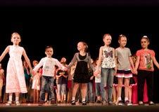 Children class awarding Royalty Free Stock Photos