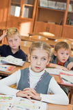 Children in the classroom Royalty Free Stock Photo