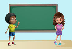Children in classroom Royalty Free Stock Photo