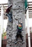 Children climbing Royalty Free Stock Photos