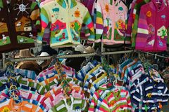 Children clothes Stock Image