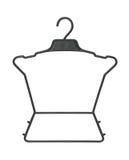 Children clothes hanger Stock Photos