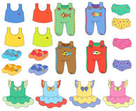 Children clothes Royalty Free Stock Images