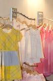 Children clothing shop Stock Image