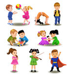 Children collection Stock Photo
