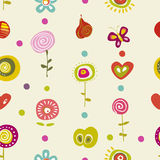 Children color pattern Stock Image