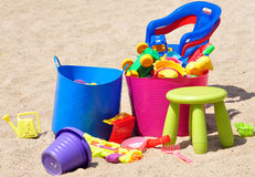 Children colorful toys Royalty Free Stock Photography