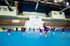 Children compete in the SpringCup international dance competition Royalty Free Stock Photography