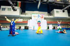 Children compete in the SpringCup international dance competition Stock Images