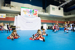 Children compete in the SpringCup international dance competition Royalty Free Stock Photo