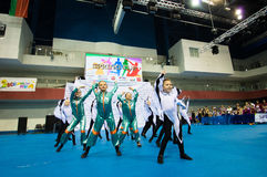 Children compete in the SpringCup international dance competition Stock Image