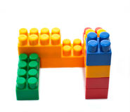 Constructor bricks Royalty Free Stock Photos