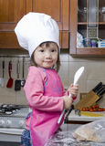 Children Cooking stock photography
