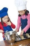 Children Cooking Stock Photos