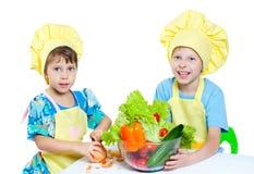 Children cooks Stock Photos