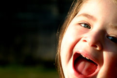 Children-Corner Scream Stock Images