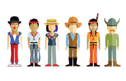 Children in costume Royalty Free Stock Photography