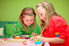 children craft Stock Photo