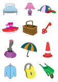 Children Cute Items in Vector Stock Photography