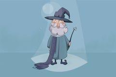 Children czarownika ilustracja ilustracji