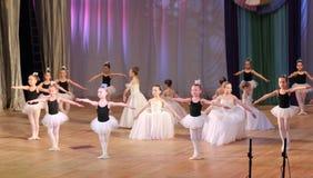 Children dance ballet Stock Image