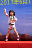 Children dance performance on the stage Royalty Free Stock Photography