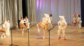 Children dance Royalty Free Stock Image
