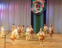 Children dance Stock Images