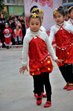 Children Dance on The Square Royalty Free Stock Photo