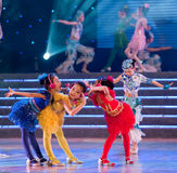 Children dance: whisper Royalty Free Stock Photography