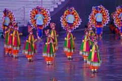 Children dancing Stock Images