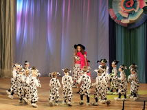 Children dancing Stock Photos