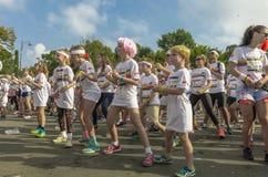 Children dancing Royalty Free Stock Photo