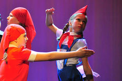 Children from dancing group Royalty Free Stock Photos