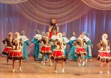 Children dancing Stock Photo