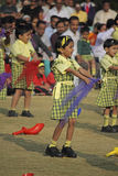 Children dancing with a theme Royalty Free Stock Photo