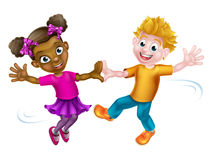Children Dancing Stock Image