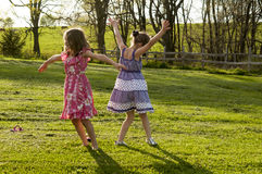 Children dancing Royalty Free Stock Photo