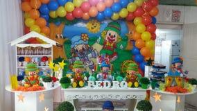 Children& x27; decoración del partido de s fotos de archivo libres de regalías
