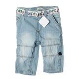 Children denim pants Royalty Free Stock Images