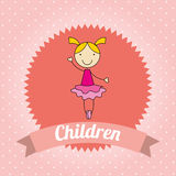 Children design Stock Photo