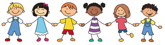Children of different countries Royalty Free Stock Photo