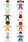 Children of different Nation Royalty Free Stock Image
