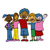 Children Diversity Royalty Free Stock Photos