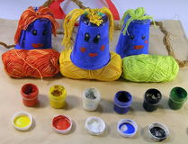 Children diy handmade Stock Photography