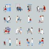 Children Doctor Pediatrician Set Royalty Free Stock Photos