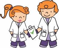 Children Doctors Royalty Free Stock Photo