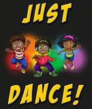 Children doing hiphop dancing Stock Image